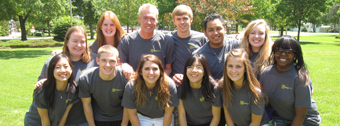 leadershape retreat group photo